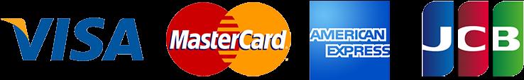 visa MasterCard amex jcb